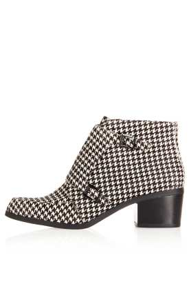 topshop dogtooth boot